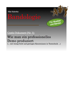 Gratis E-Book Demoproduktion